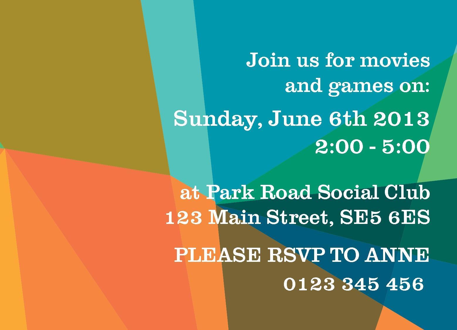 Free Invitations Templates | instantprint