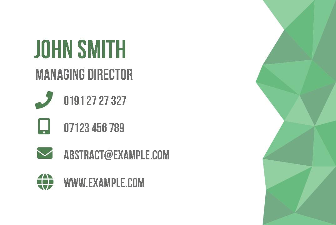 Free business cards templates instantprint abstract business cards design template cheaphphosting Image collections