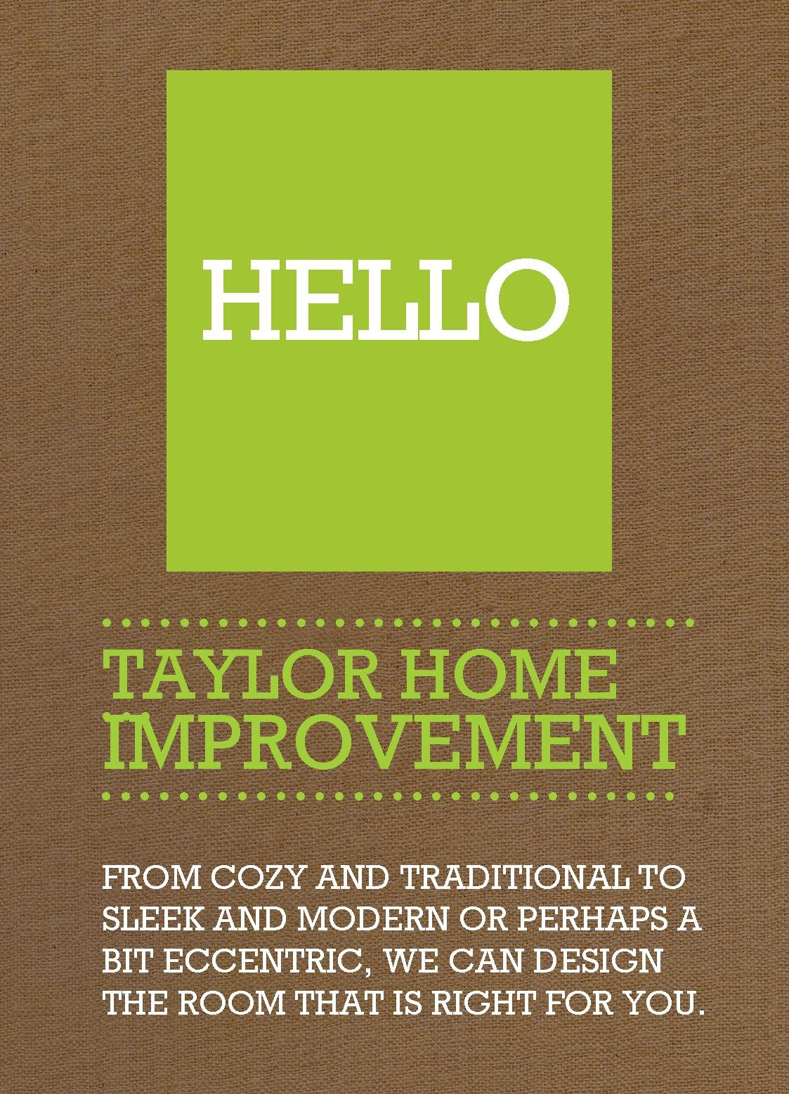 hello flyers leaflets design template