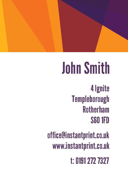 Free Business Cards Templates Instantprintcouk - Templates for business cards
