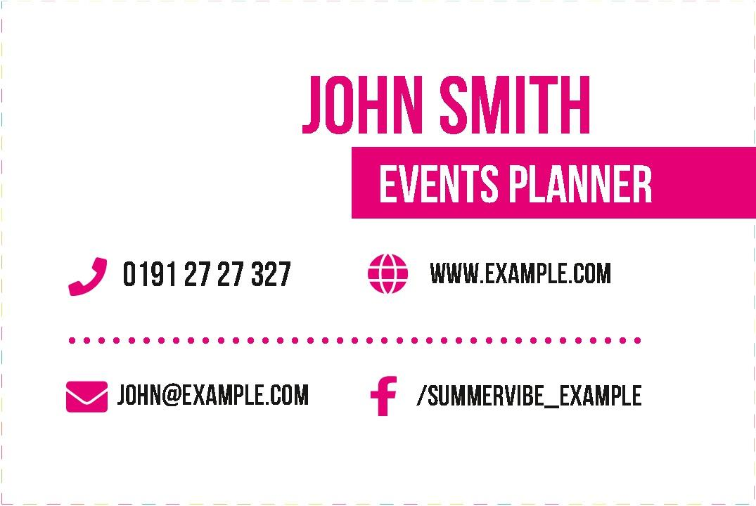 Free business cards templates instantprint summer vibe business cards design template reheart