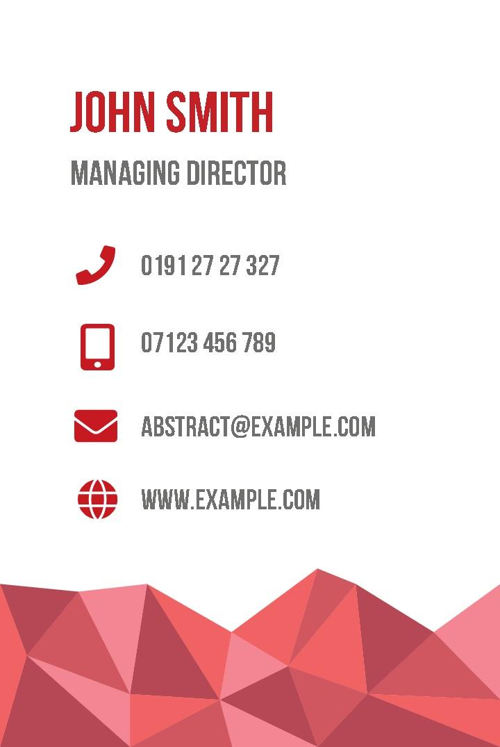 Free business cards templates instantprint abstract business cards design template wajeb Images