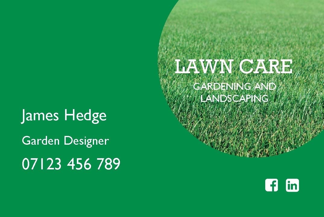Free lawn care business cards templates image collections card free business cards gardening gallery card design and card template free lawn care business card maker accmission Images