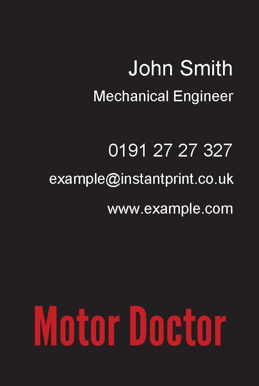 Free Business Cards Templates Instantprintcouk - Template of business cards