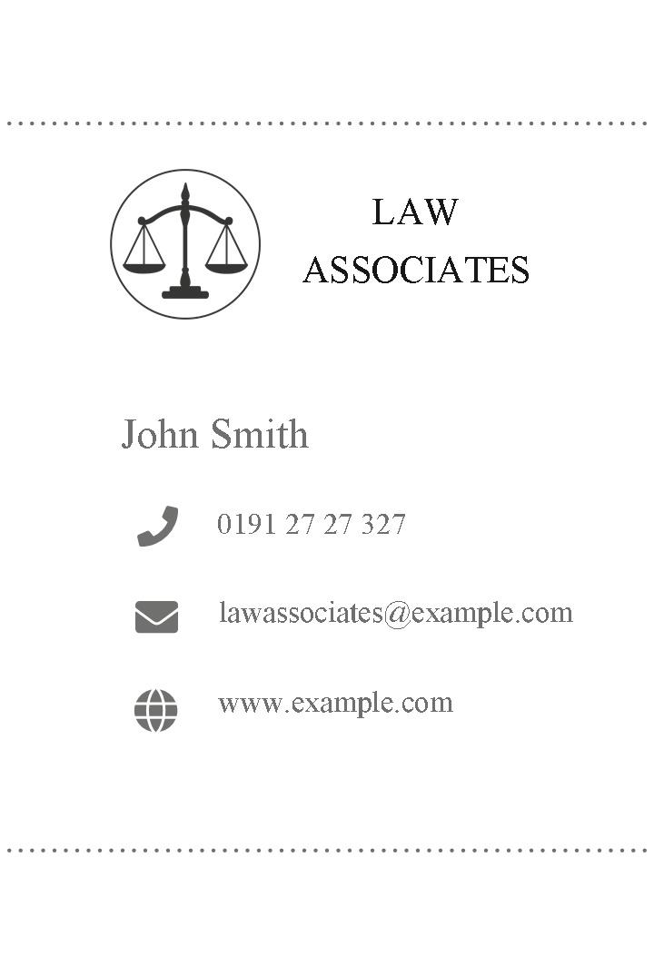 Free business cards templates instantprint law associates business cards design template wajeb Choice Image