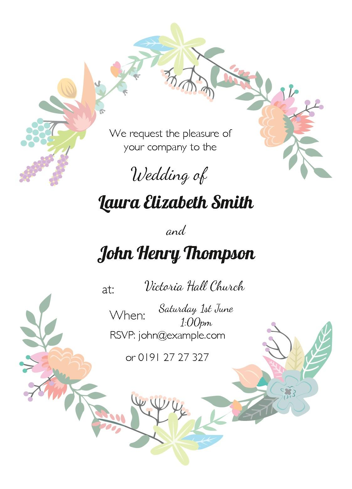 Free Invitations Templates instantprint