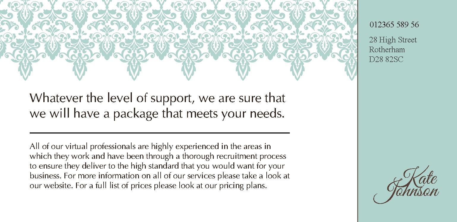 DL Flyer & Leaflet Design Templates | instantprint