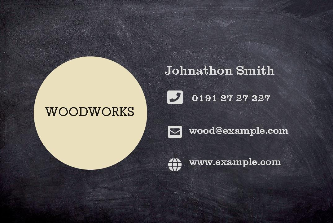 Free business cards templates instantprint woodworks business cards design template wajeb Image collections