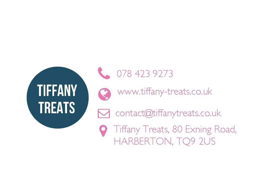 Free business cards templates instantprint tiffany treats business cards design template wajeb Image collections