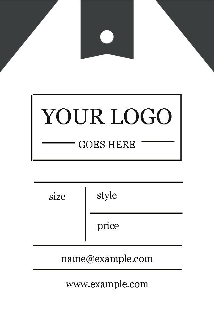 Free business cards templates instantprint clothing tags business cards design template fbccfo Images