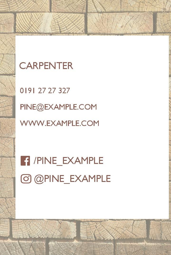 Free business cards templates instantprint pine business cards design template pine business cards design template fbccfo Images