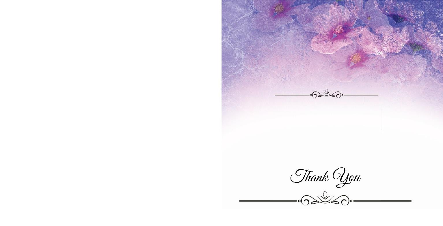 Greeting cards design templates instantprint purple floral gradient cards invites design template m4hsunfo