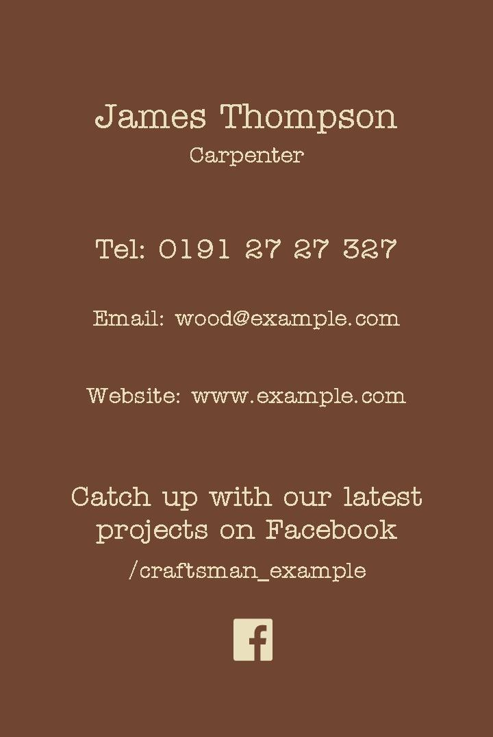 Free business cards templates instantprint wood craft business cards design template wajeb Image collections