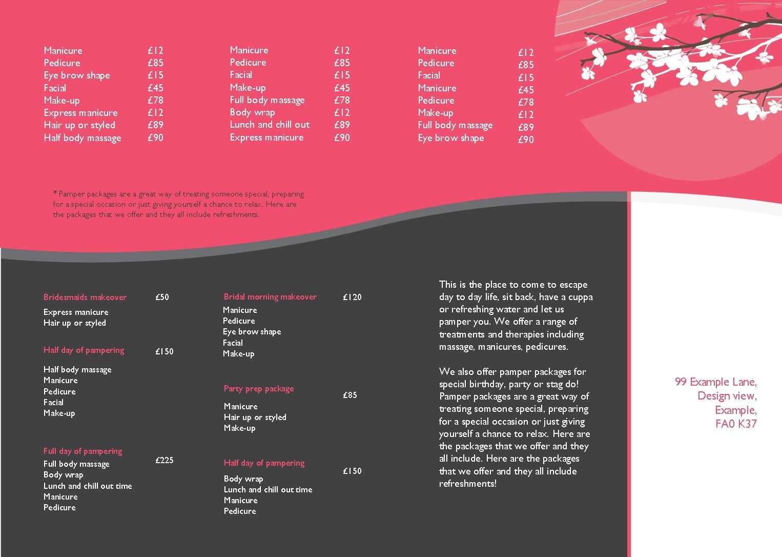 instant print. | Design Online | A3 Folded Leaflet Design Templates