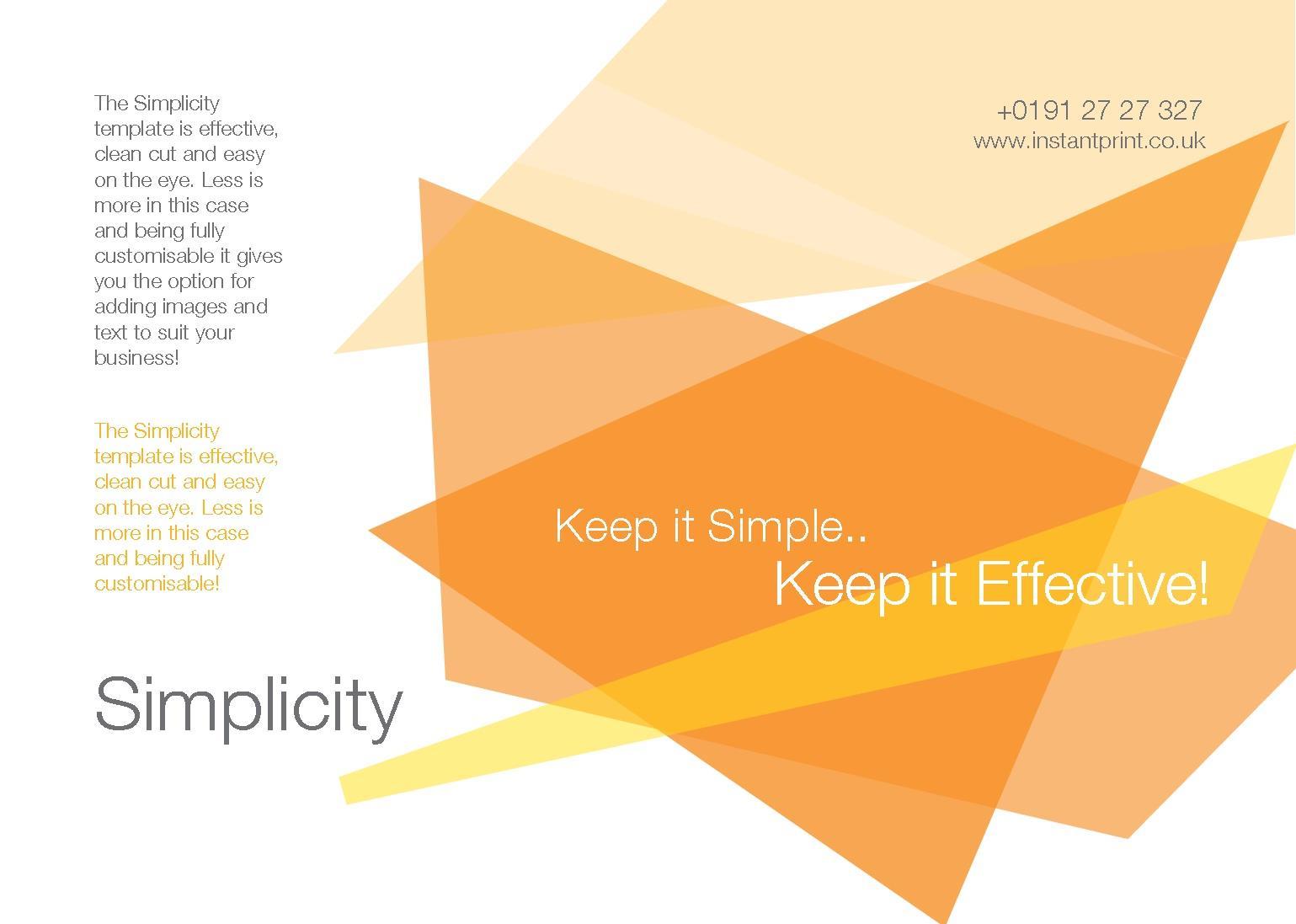 A5 Folded Leaflets Design Templates | instantprint